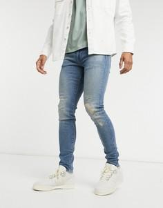 Суженные книзу джинсы в винтажном стиле Levis-Синий Levis®
