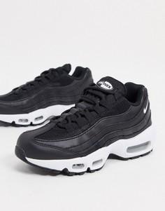 Черные кроссовки Nike Air Max 95-Черный