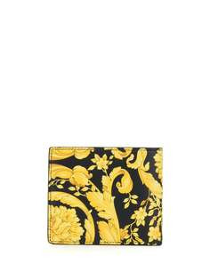 Versace кошелек с принтом Baroque