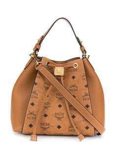 MCM сумка-ведро Luisa с принтом Visetos