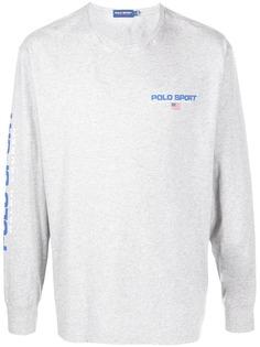 POLO RALPH LAUREN SPORT футболка с длинными рукавами и логотипом