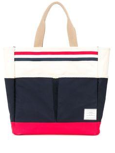 Thom Browne сумка-тоут с полосками