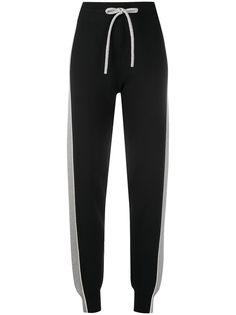 See by Chloé спортивные брюки с лампасами