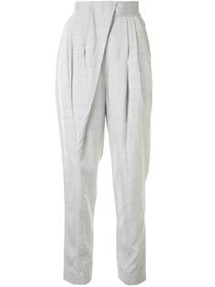 Proenza Schouler зауженные брюки со складками