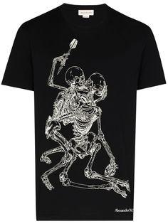 Alexander McQueen футболка Lovers