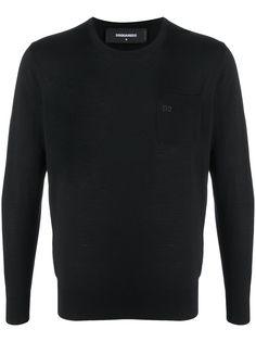 Dsquared2 пуловер с логотипом