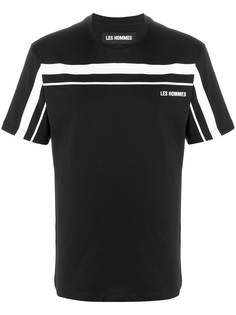 Les Hommes футболка с короткими рукавами и логотипом