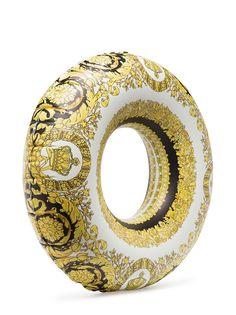 Versace надувная подушка в форме кольца с принтом Baroque