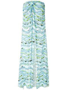 Amir Slama пляжное платье с принтом