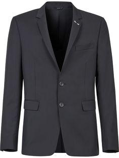 Fendi однобортный пиджак