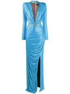 Philipp Plein вечернее платье со стразами