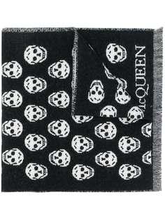 Alexander McQueen шарф вязки интарсия