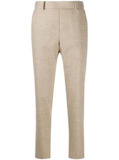 Peserico зауженные брюки с завышенной талией
