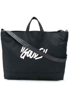 Off-White большая сумка-тоут с принтом
