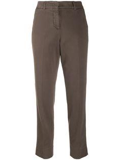 Peserico укороченные брюки чинос