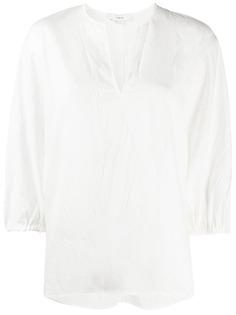 Vince блузка с разрезом