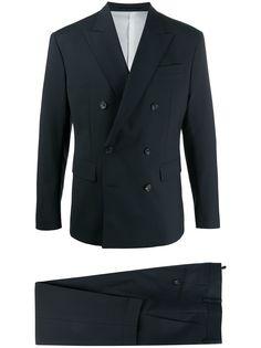 Dsquared2 костюм-двойка с двубортным пиджаком
