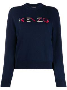 Kenzo джемпер с вышитым логотипом