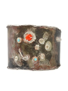 BOAZ KASHI браслет-кафф Bereshit с бриллиантами