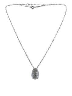 Cartier колье с подвеской из белого золота с бриллиантами и кристаллами