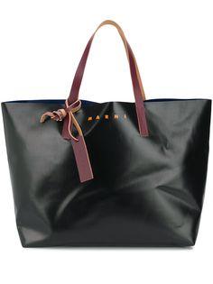 Marni сумка-тоут в стиле колор-блок