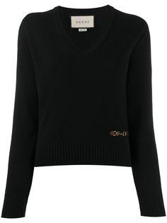 Gucci джемпер с длинными рукавами