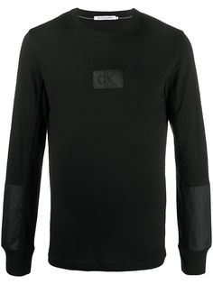 Calvin Klein Jeans футболка с нашивкой-логотипом