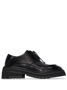 Marsèll туфли дерби на массивной подошве