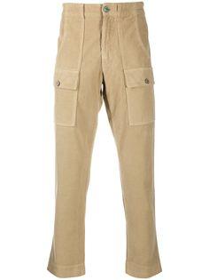 Palm Angels вельветовые брюки карго