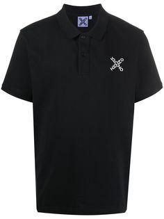 Kenzo рубашка поло с вышитым логотипом
