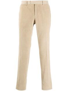 Z-ZEGNA укороченные вельветовые брюки