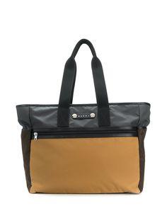 Marni сумка-тоут Hackney в стиле колор-блок