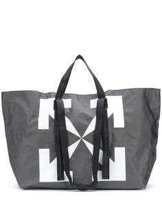 Off-White сумка-тоут с логотипом Arrows