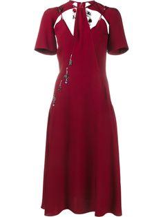 Christopher Kane платье с подвесками