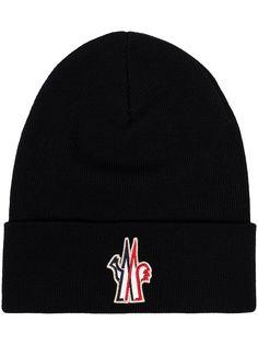 Moncler Grenoble шапка бини с логотипом