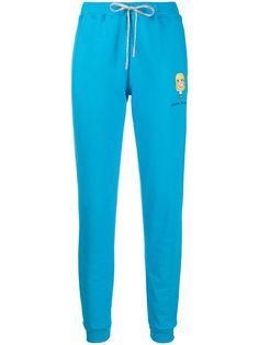 Chiara Ferragni спортивные брюки с вышитым логотипом