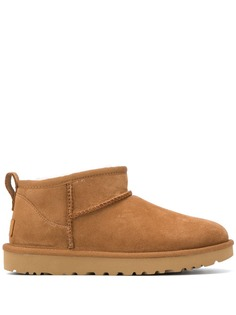 UGG ботинки на плоской подошве