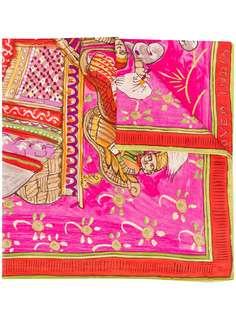 Hermès платок Beloved India 2000-х годов