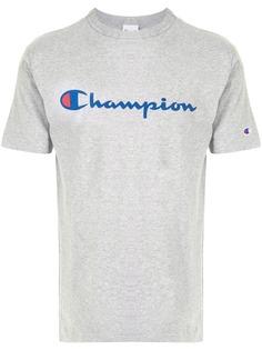 Champion футболка с круглым вырезом и логотипом
