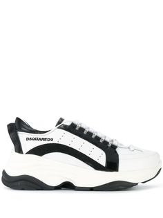 Dsquared2 массивные кроссовки на шнуровке