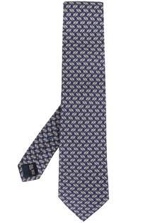 Salvatore Ferragamo галстук с заостренным концом
