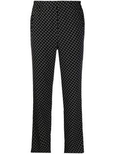 Etro брюки кроя слим с узором