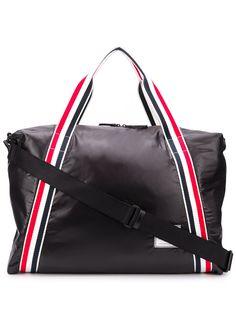 Thom Browne дорожная сумка с полосками