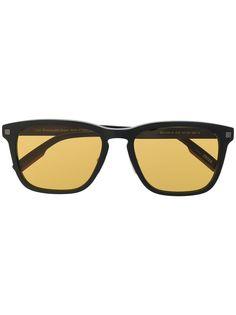 Ermenegildo Zegna солнцезащитные очки в квадратной оправе