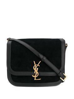 Saint Laurent сумка на плечо Lock среднего размера