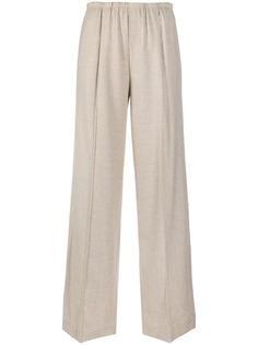 Vince укороченные брюки широкого кроя