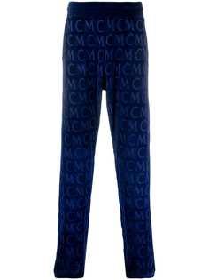 MCM спортивные брюки с монограммой