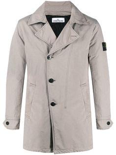 Stone Island двубортная куртка
