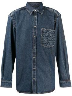 MCM джинсовая рубашка