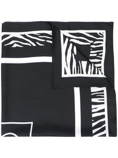 Ports 1961 шарф с зебровым принтом